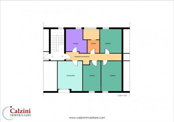 Appartamento in vendita a Roma, Tiburtina  Rebibbia, Con giardino, 110 mq - Foto 2