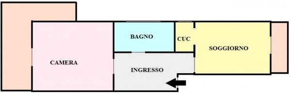 Appartamento in vendita a Torino, Rebaudengo, 65 mq - Foto 2