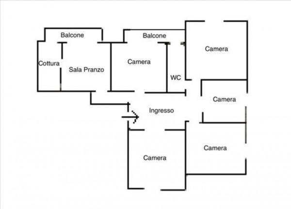 Appartamento in vendita a Siena, 156 mq