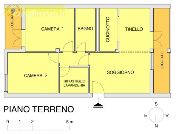 Appartamento in vendita a Impruneta, Con giardino, 100 mq - Foto 4