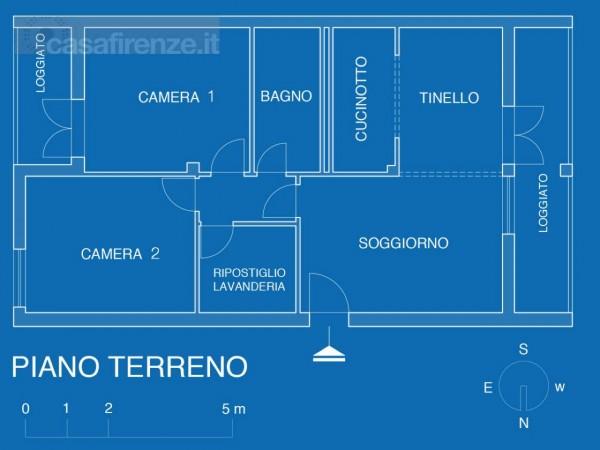 Appartamento in vendita a Impruneta, Con giardino, 100 mq - Foto 2