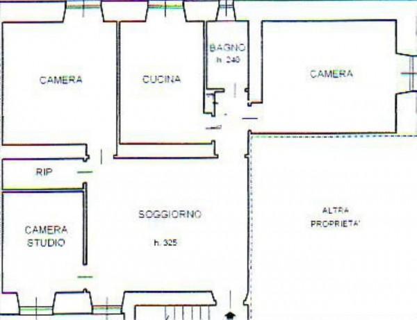 Appartamento in vendita a Genova, Foce, 100 mq - Foto 2