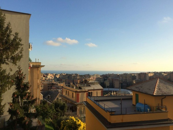 Appartamento in vendita a Genova, Borgoratti, 105 mq