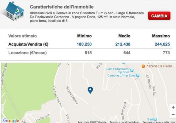 Appartamento in vendita a Genova, San Teodoro, Con giardino, 125 mq - Foto 2