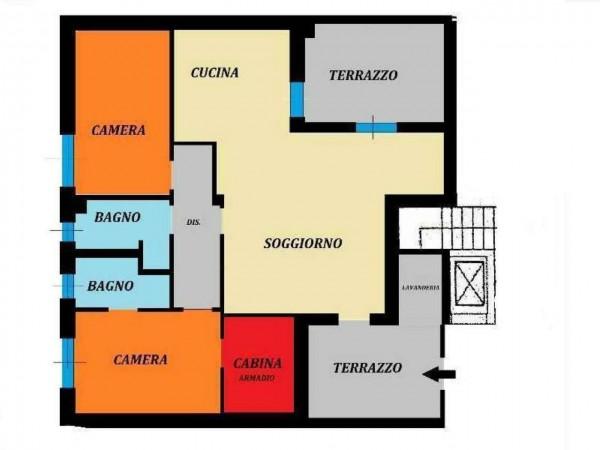 Appartamento in vendita a Cesate, Arredato, con giardino, 110 mq - Foto 2
