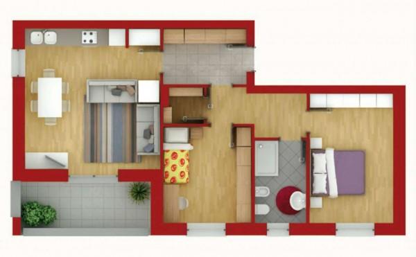 Appartamento in vendita a Pregnana Milanese, Semi-centrale, 100 mq - Foto 2