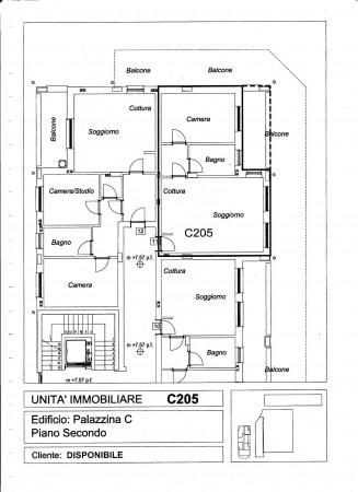 Appartamento in vendita a Pregnana Milanese, Semi Centrale, 76 mq - Foto 5