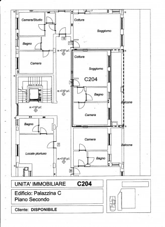 Appartamento in vendita a Pregnana Milanese, Semi Centrale, 67 mq - Foto 5