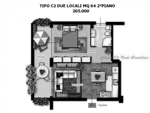 Appartamento in vendita a Milano, Portello, Con giardino, 64 mq