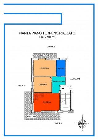 Appartamento in vendita a Alpignano, Belvedere, Con giardino, 125 mq - Foto 3