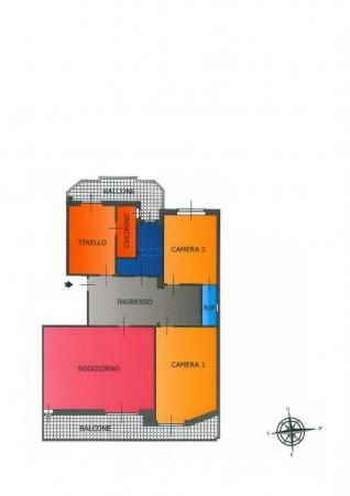 Appartamento in vendita a Torino, Martinetto, Con giardino, 145 mq - Foto 3