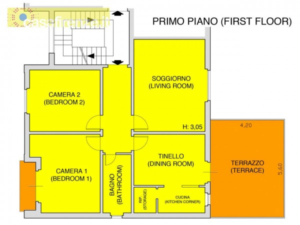 Appartamento in affitto a Firenze, Arredato, 96 mq - Foto 4