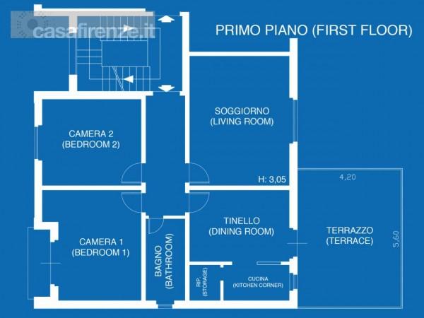 Appartamento in affitto a Firenze, Arredato, 96 mq - Foto 33