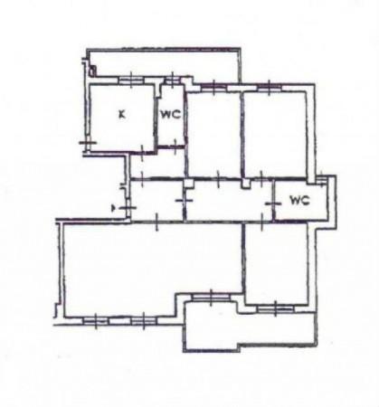 Appartamento in vendita a Milano, San Gimignano, Con giardino, 170 mq - Foto 2