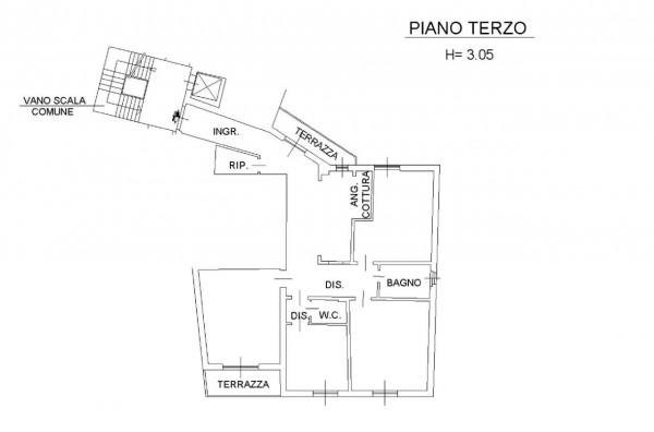 Appartamento in vendita a Firenze, Rifredi, Arredato, 130 mq - Foto 2