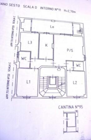Appartamento in vendita a Roma, Vallerano, 100 mq - Foto 3