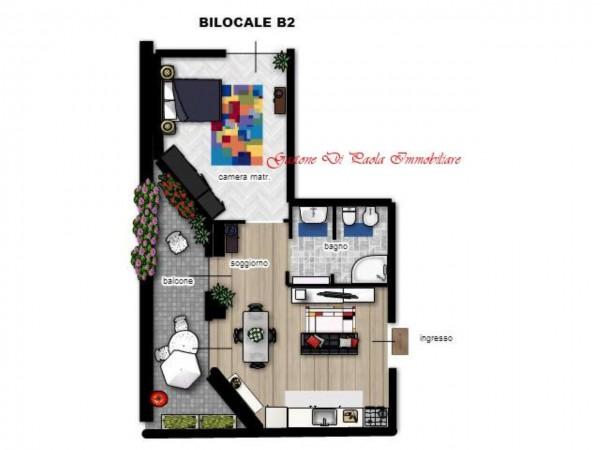 Appartamento in vendita a Milano, Tito Livio, Con giardino, 57 mq - Foto 3