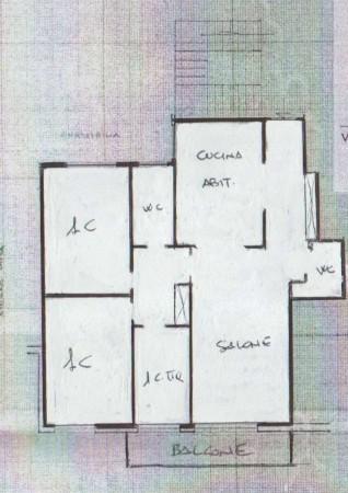 Appartamento in vendita a Roma, Monteverde Nuovo, Con giardino, 110 mq - Foto 3