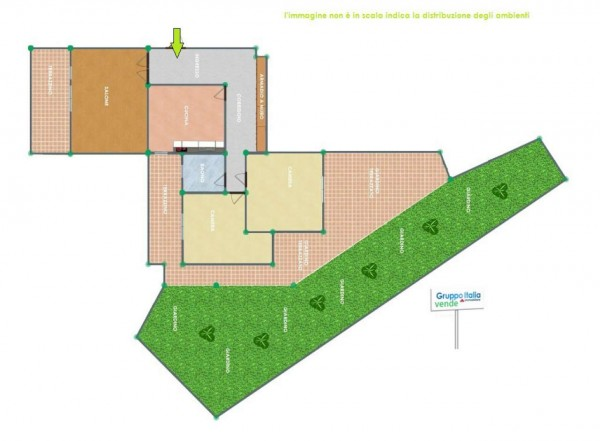 Appartamento in vendita a Roma, Aurelio/bravetta, Con giardino, 103 mq - Foto 2