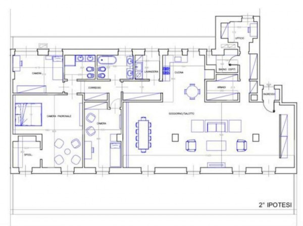 Appartamento in vendita a Torino, Piazza San Carlo, 315 mq - Foto 2