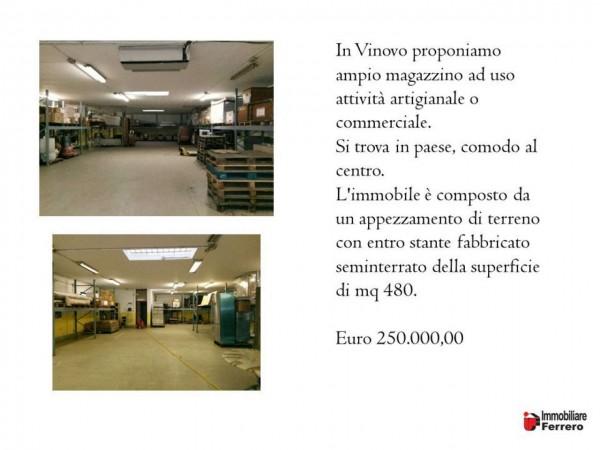 Locale Commerciale  in vendita a Vinovo, Vinovo, 550 mq - Foto 2