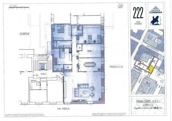 Appartamento in vendita a Torino, 242 mq - Foto 2