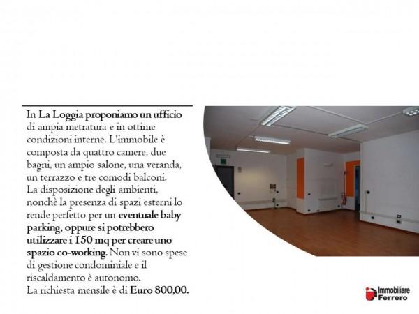 Ufficio in affitto a La Loggia, La Loggia, 150 mq - Foto 2