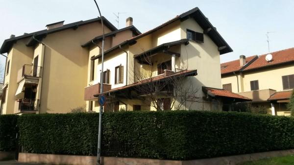 Villa in vendita a Garbagnate Milanese, Con giardino, 185 mq - Foto 12