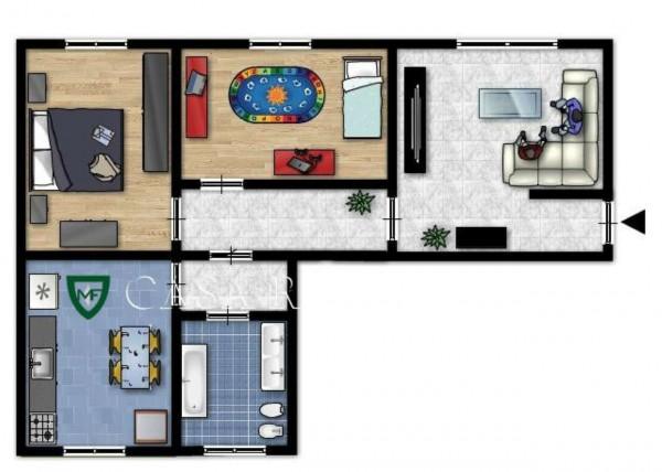 Appartamento in vendita a Induno Olona, Con giardino, 109 mq - Foto 2
