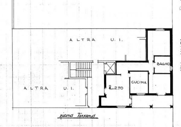 Appartamento in vendita a Gorla Minore, Ospedale, Con giardino, 68 mq - Foto 3