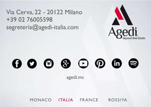 Appartamento in vendita a Milano, Piazza Sicilia, Con giardino, 2380 mq - Foto 2