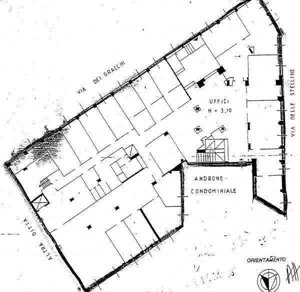 Appartamento in vendita a Milano, Piazza Sicilia, Con giardino, 2380 mq - Foto 8