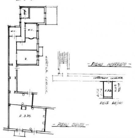 Appartamento in vendita a Milano, Palestro, Con giardino, 180 mq - Foto 7