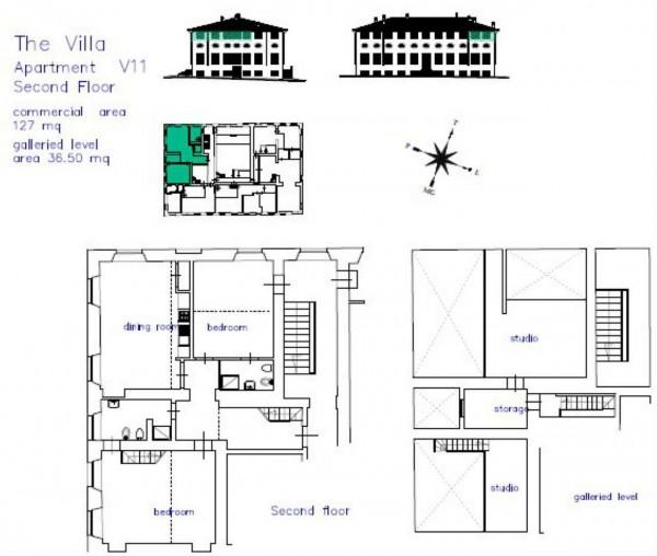 Appartamento in vendita a Lucca, Residenziale, Con giardino, 80 mq - Foto 6