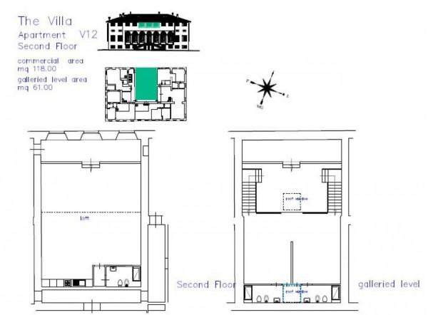 Appartamento in vendita a Lucca, Residenziale, Con giardino, 80 mq - Foto 3