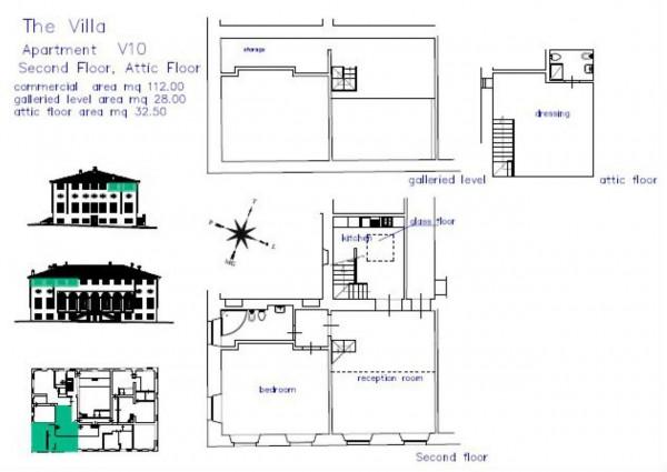 Appartamento in vendita a Lucca, Residenziale, Con giardino, 80 mq - Foto 5