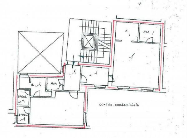 Appartamento in vendita a Roma, Trevi, Con giardino, 90 mq - Foto 7
