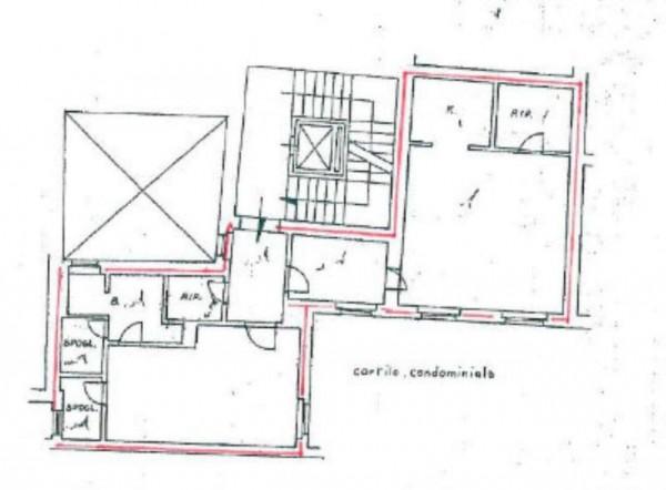 Appartamento in vendita a Roma, Trevi, Con giardino, 90 mq - Foto 9