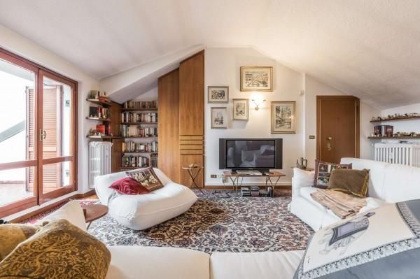 Appartamento in vendita a Monza, Parco, Con giardino, 275 mq - Foto 13