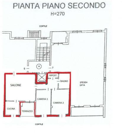 Appartamento in vendita a Alpignano, Centro, Con giardino, 90 mq - Foto 3