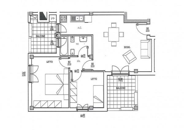 Appartamento in vendita a Roma, Casal Bianco, 66 mq - Foto 6