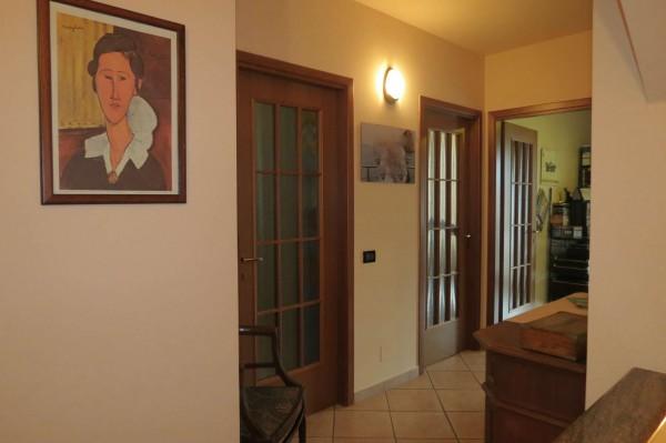 Villetta a schiera in vendita a Caselle Torinese, Con giardino, 220 mq - Foto 16