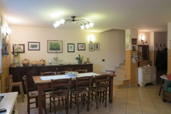 Villetta a schiera in vendita a Caselle Torinese, Con giardino, 220 mq - Foto 22