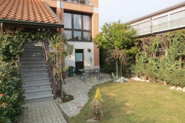 Villetta a schiera in vendita a Caselle Torinese, Con giardino, 220 mq - Foto 23