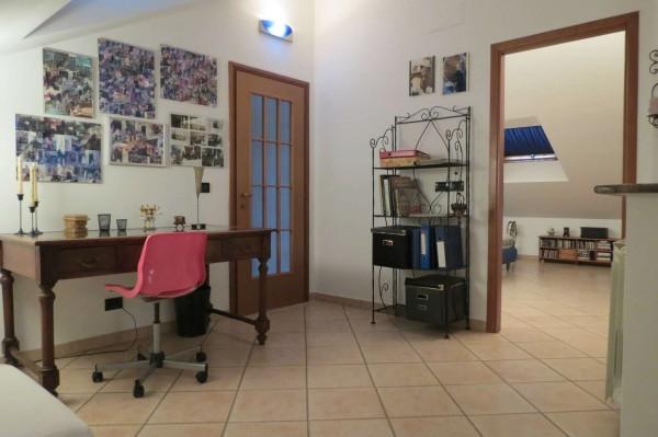 Villetta a schiera in vendita a Caselle Torinese, Con giardino, 220 mq - Foto 9