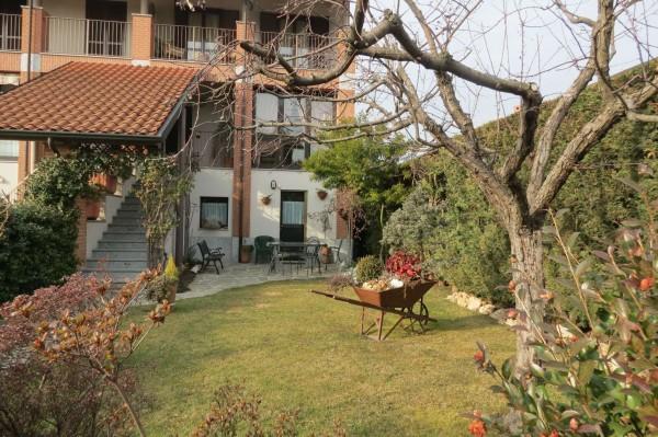 Villetta a schiera in vendita a Caselle Torinese, Con giardino, 220 mq - Foto 24