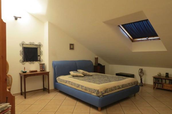 Villetta a schiera in vendita a Caselle Torinese, Con giardino, 220 mq - Foto 8