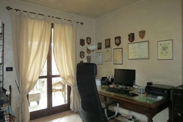 Villetta a schiera in vendita a Caselle Torinese, Con giardino, 220 mq - Foto 13