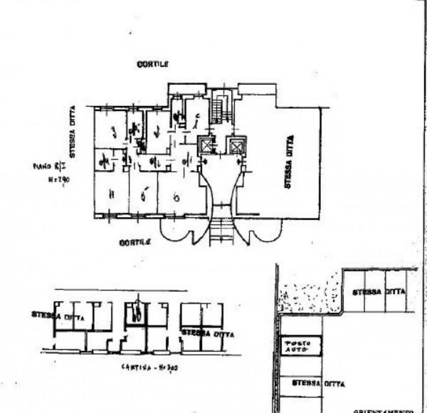 Appartamento in vendita a Milano, Via Pezzotti, 162 mq - Foto 2