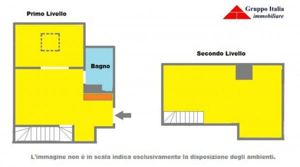 Appartamento in vendita a Roma, Casetta Mattei, Con giardino, 75 mq - Foto 3